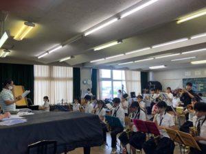 伊丹市立伊丹高校「ICHI☆ITA JAZZ Ensemble」にお邪魔してきました🎷